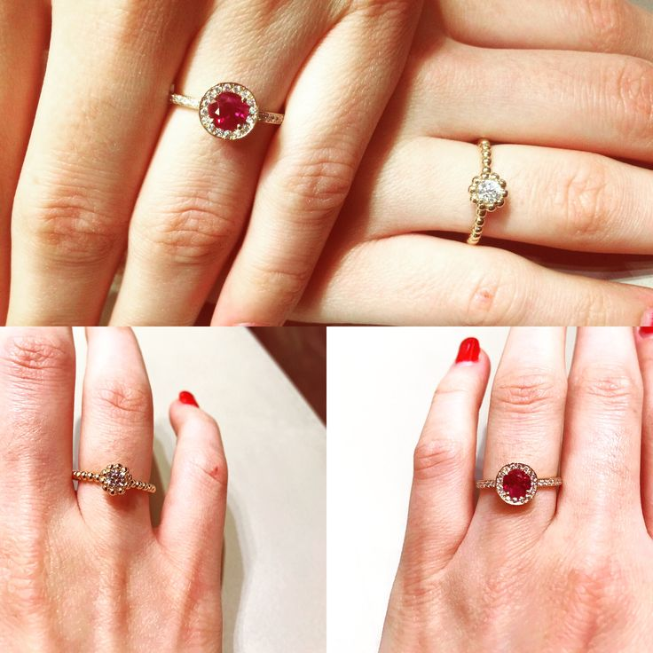 I cannot seem to be able to choose between ruby and diamond ... Which one would you choose ? #waskoll #declaration #summer #paris #love #proposal #diamond #ruby #pinkgold