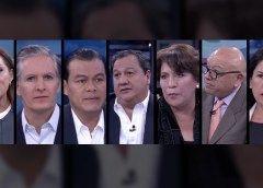 Candidatos al gobierno del Edomex presentan propuesta en programa de televisión