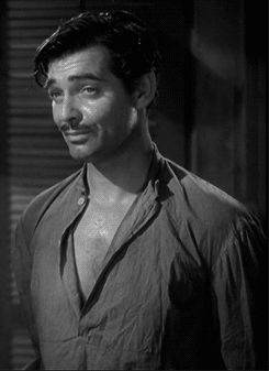 "Clark Gable in ""Red Dust"", 1932"