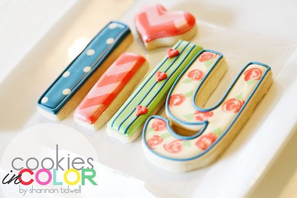 Name Cookies   Cookies In Color   Shannon Tidwell
