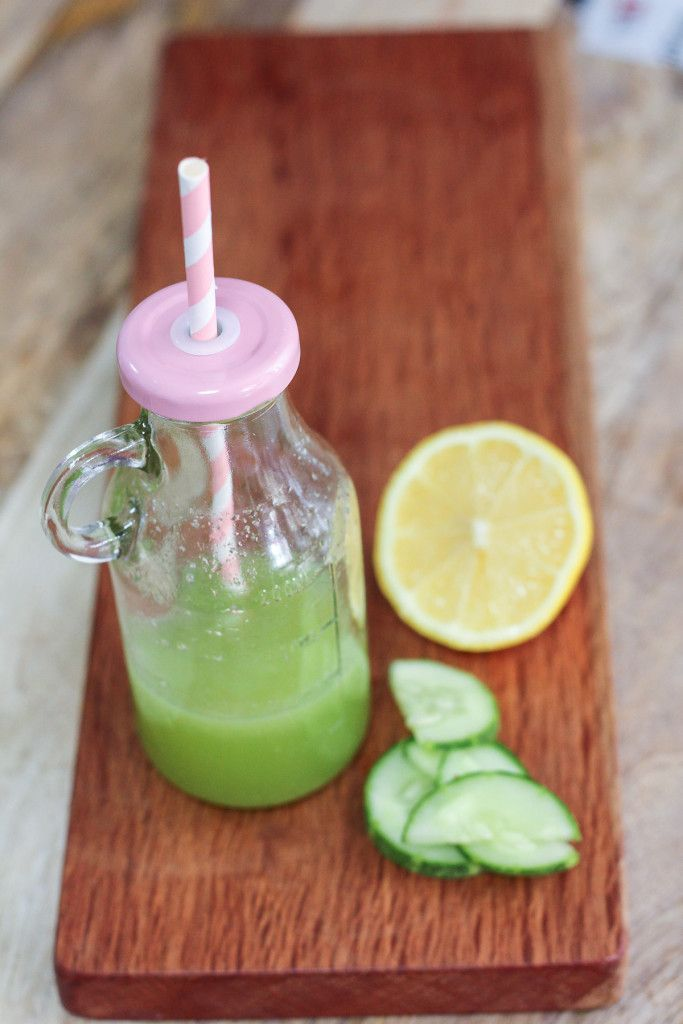Refreshing Cucumber Lemonade | http://mayakitchenette.com/refreshing-cucumber-lemonade
