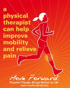 A physical therapist can help you improve mobility and relieve pain.