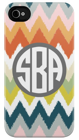 Our new tribal chevron iPhone case! #plumstreetprints