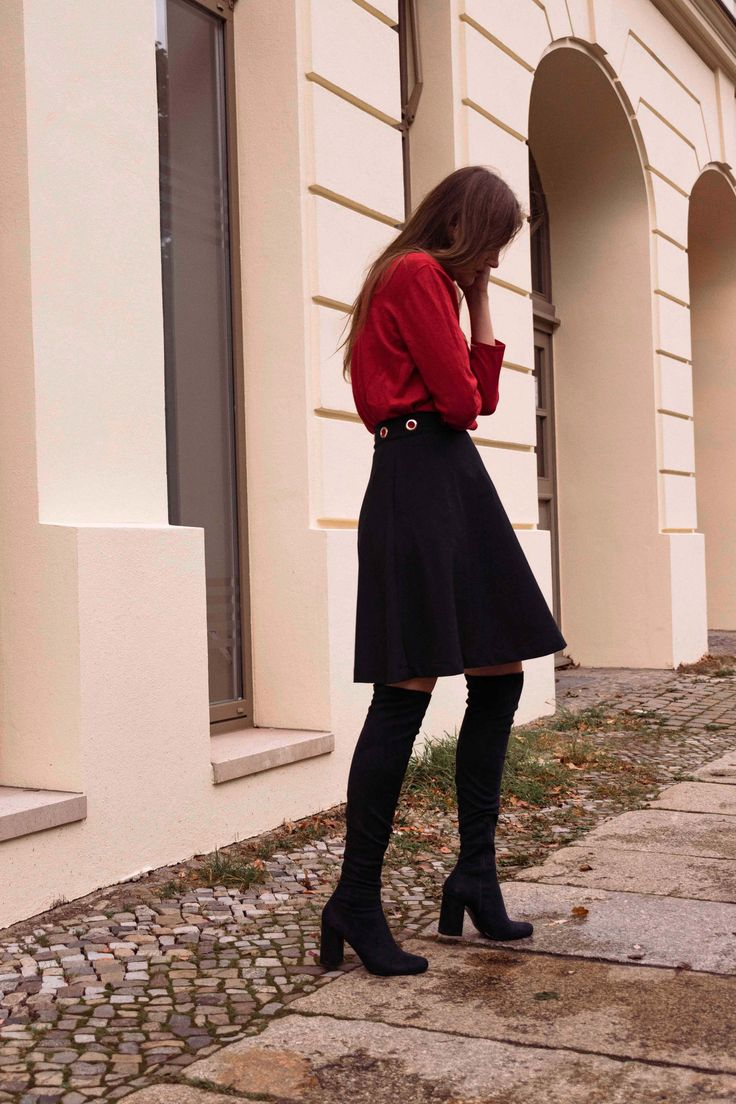 How to Style Overknees for Everday – MYDAILYCOUTURE