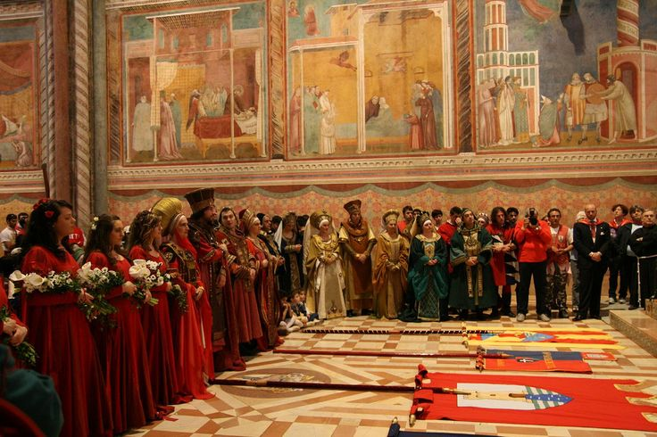Assisi - Calendimaggio 2009