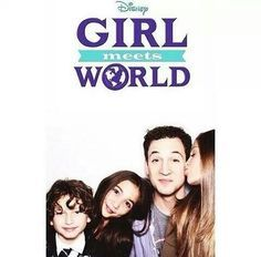 """Girl Meets World"""" Fell in love with watching this show only after two episodes. Description from pinterest.com. I searched for this on bing.com/images"""