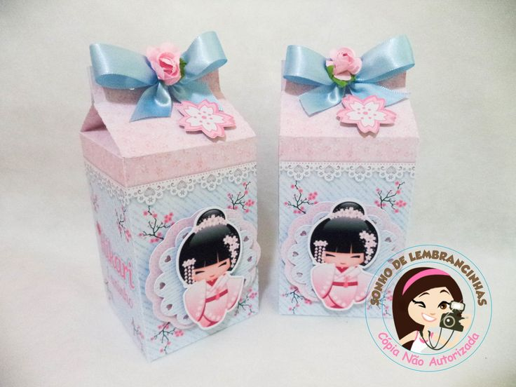 Caixa Milk Kokeshi