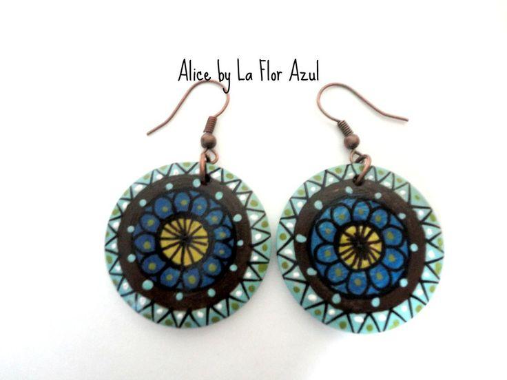 Mini Chicas Orecchini Alice, by La Flor Azul, 12,00 € su misshobby.com