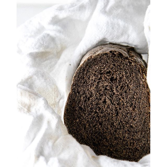 Dark Rye Bread With Molasses, Caraway And Dark Cocoa
