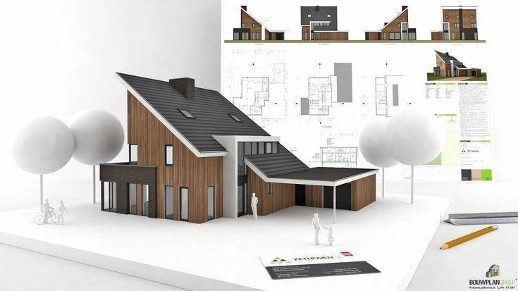 Presentatie moderne villa met lessenaarsdak - Zethoven Bouwplan Groep