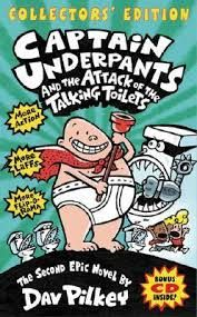 Image result for captain underpants books