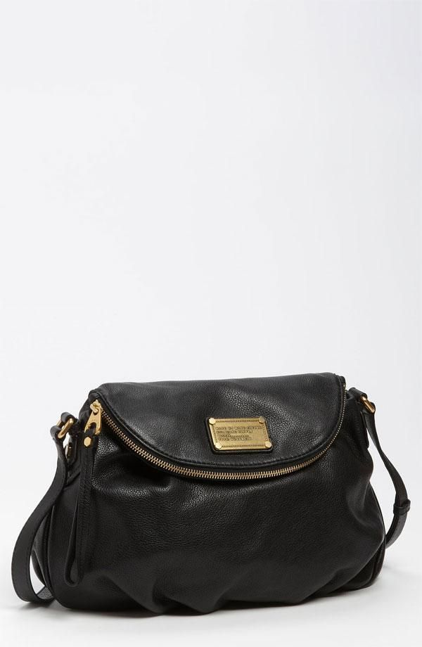 Love this classic black handbag from Marc by Marc Jacobs