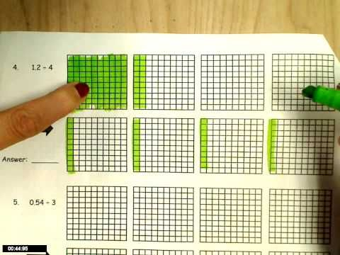 AWESOME VIDEO--- VERY CONCRETE!!! dividing decimals-modeling