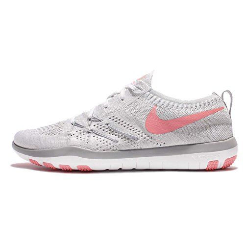 from amazon.com · Womens Nike Free TR Focus Flyknit Training Shoe,  White/Br... https