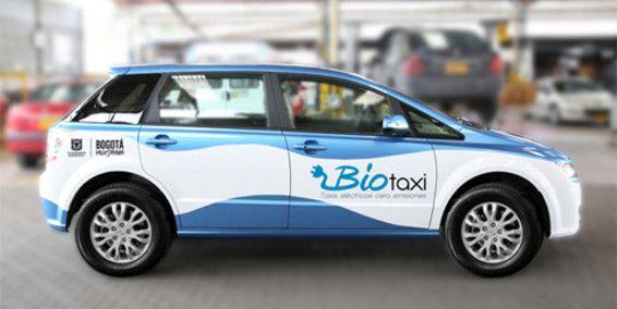 ¿Cómo están operando los taxis eléctricos en Bogotá?