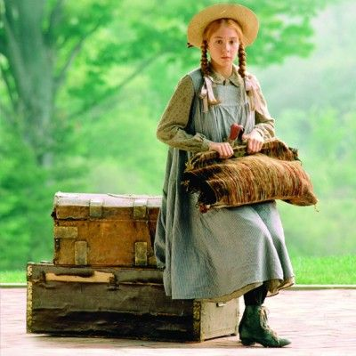 Young Anne of Green Gables played by Megan Follows
