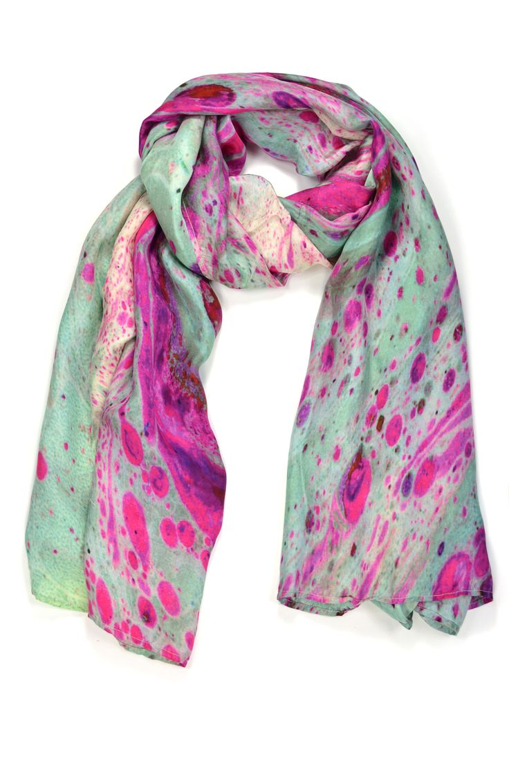 Marble Print Scarf from Edition de Luxe. www.editiondeluxecollections.com