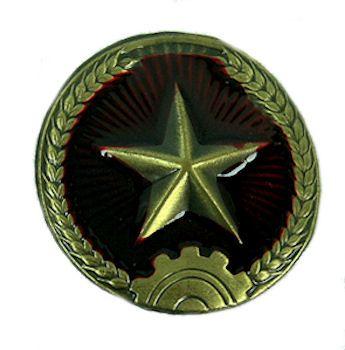 North Vietnamese Army Vietnam War | North Vietnamese (NVA) Army Helmet Badge - Vietnam Era - USED