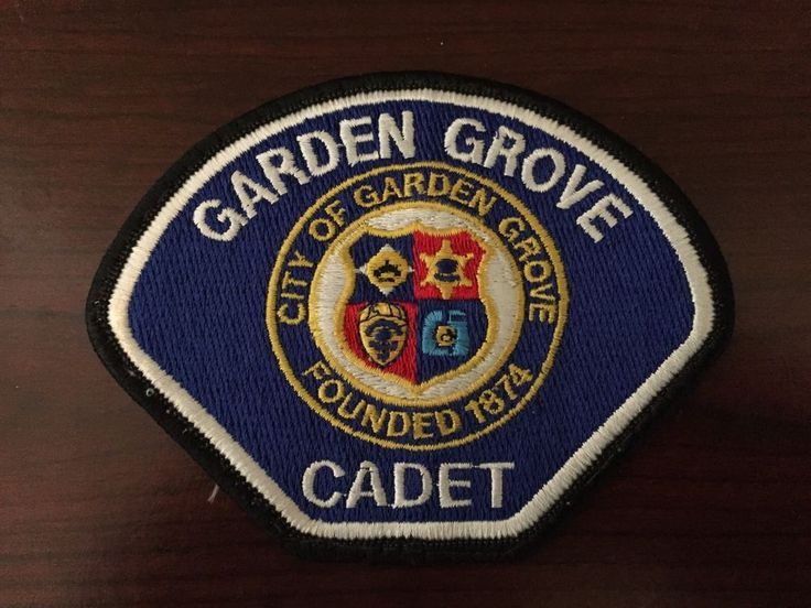 Garden Grove Police Cadet Patch - California - CA - Orange County in Collectibles, Historical Memorabilia, Police | eBay