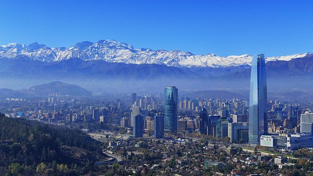 Santiago, Chile. This is where Fernanda lives. Might get to go visit her in February for 2 weeks for their summer break!!
