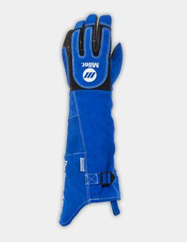Miller - Welding Helmets & Welder Safety Equipment and Clothing - Heavy Duty MIG/Stick (Long Cuff) Gloves