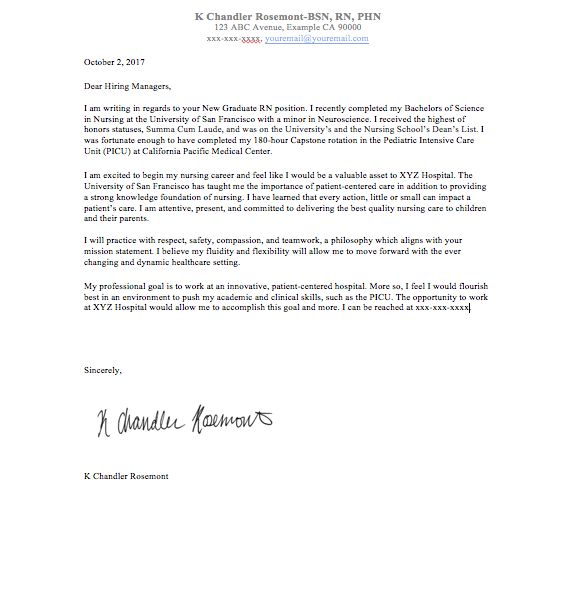 The 25+ best Nursing cover letter ideas on Pinterest Employment - information technology cover letter template