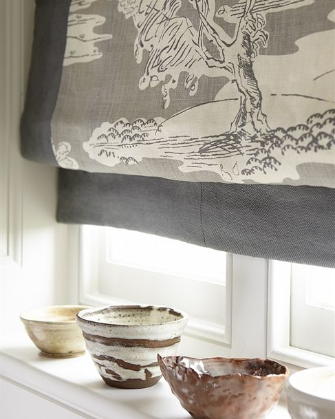 Browse our range of stylish, high quality made to measure roller blinds. Traditional designs that work well in kitchens, bathrooms and work rooms. Vanessa Arbuthnott