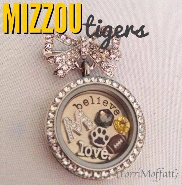 #Mizzou Tigers #tigers #origamiowl #owlsomeshine www.locketswithalyssa.origamiowl.com