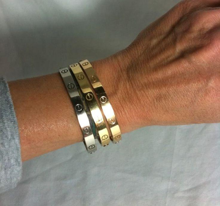 cartier love bracelet - currently on wish list:)