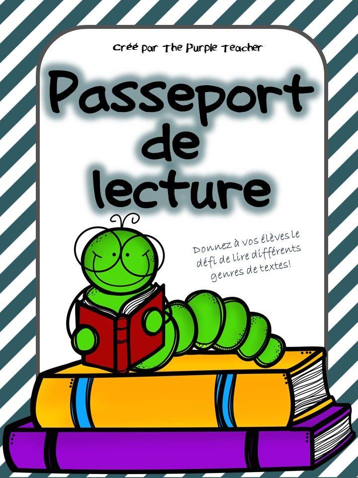 CE2 Donnez à vos élèves le défi de lire 4 textes de 12 différents genres dans ce passeport de lecture!