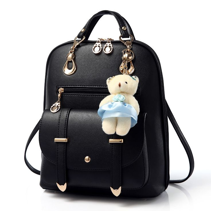 2017 Casual Women Backpack leather kanken backpack Mochila feminina Mochila mujer White Black school Bagpack Rucksacks for girls
