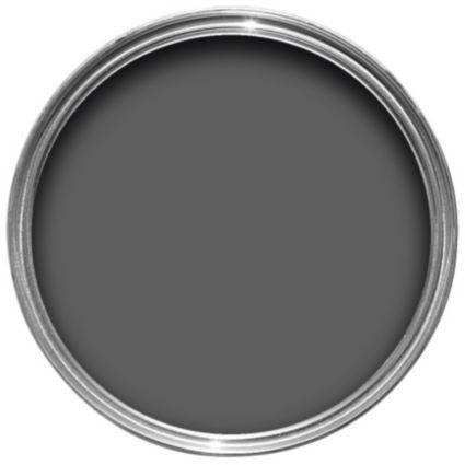 Colours Asphalt Matt Emulsion Paint 2.5L: Image 1