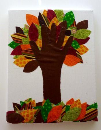 kids-handprint-crafts - Repinned by Totetude.com