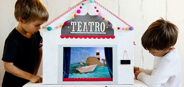 Marionetas y títeres caseros para montar tu propio teatro