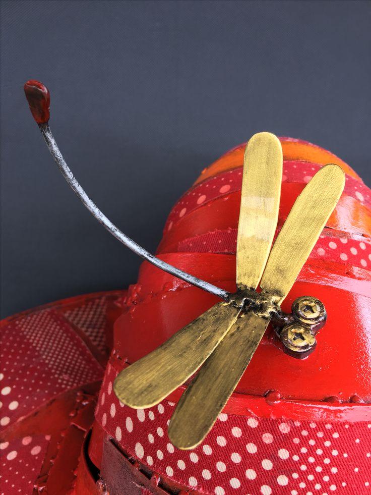 Metal art dragonfly