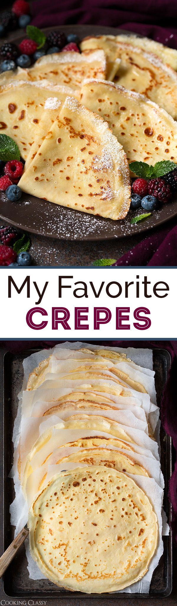 Crepes - Cooking Classy