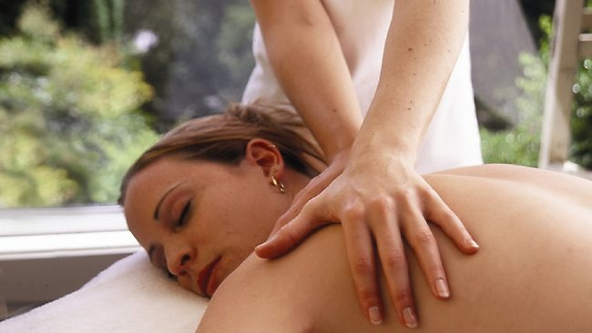 A relaxing Swedish massage at Solar Springs