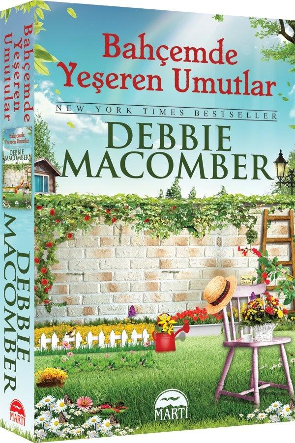Bahçemde Yeşeren Umutlar / Debbie Macomber (Uygun fiyata satın almak için; http://www.kitapyurdu.com/kitap/default.asp?id=598194) Yaşadığımız dünyanın iyi-kötü, acı-tatlı ne çok sürprizle dolu olduğunu anlatan, şaşırtıcı olduğu kadar etkileyici bir roman. Debbie Macomber, küçük Mucizeler Dükkânı ve Bir Yumak Mutluluk'tan sonra yeni kitabı Bahçemde Yeşeren Umutlar ile seriye bambaşka bir lezzet katıyor.
