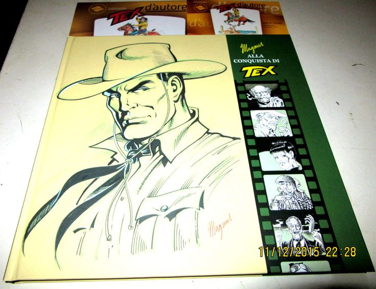 MAGNUS Alla conquista di Tex Tiferno Comics 2015