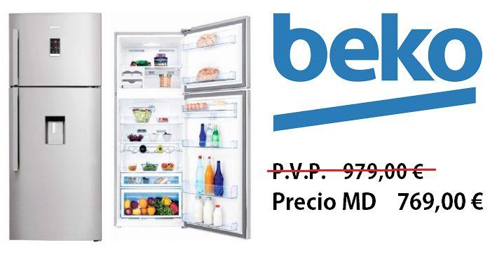 BEKO Frigorifico DN156720DX con dispensador de agua http://www.materialdirecto.es/es/frigorificos-dos-puertas/68891-beko-frigorifico-dn156720dx.html
