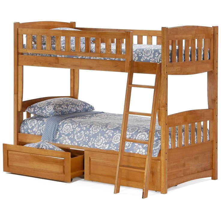 99+ solid Wood Bunk Beds for Kids - Interior Design Bedroom Ideas Check more at http://nickyholender.com/solid-wood-bunk-beds-for-kids/