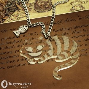 Cheshire Cat necklace - The Cheshire Cat Photo (26541862) - Fanpop