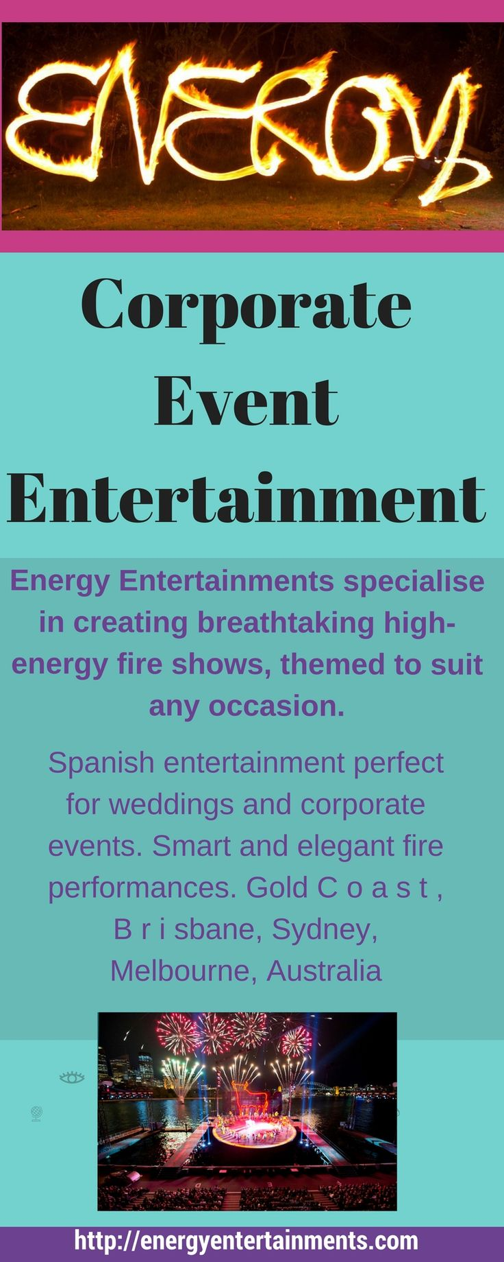 We love pushing the boundaries at Energy Entertainments and believe anything is possible with the correct planning and safety precautions.