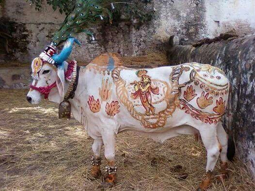 Krishna must be near