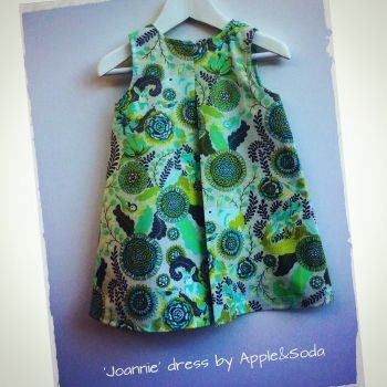 Apple&Soda   Children   Clothing   Sweet 'Joannie' dress - Handmade Emporium