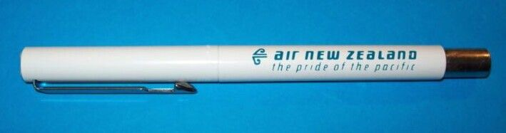 Air New Zealand Pen with B747-400 on reverse side