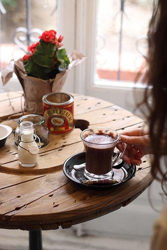El Mür Café para las tardes de invierno, antes de que se haga de noche...