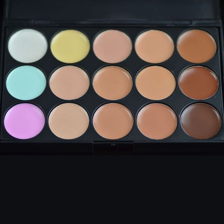 Special Professional 15 Color Concealer 15 colors Facial Face Cream/eyeshadow   Care Camouflage Makeup base Palettes Cosmetic