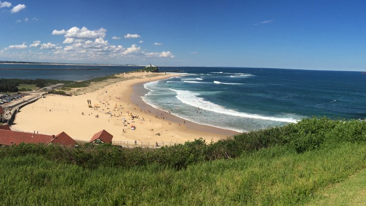 Nobby's Beach Newcastle - view from Fort Scratchley