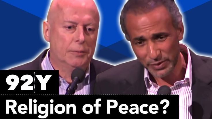 Christopher Hitchens and Tariq Ramadan Debate: Is Islam a Religion of Pe...